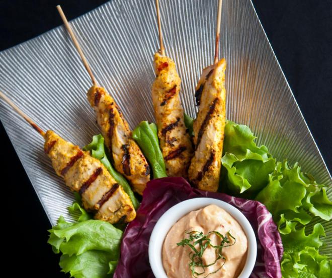 Chicken Shasliks Malay Satay