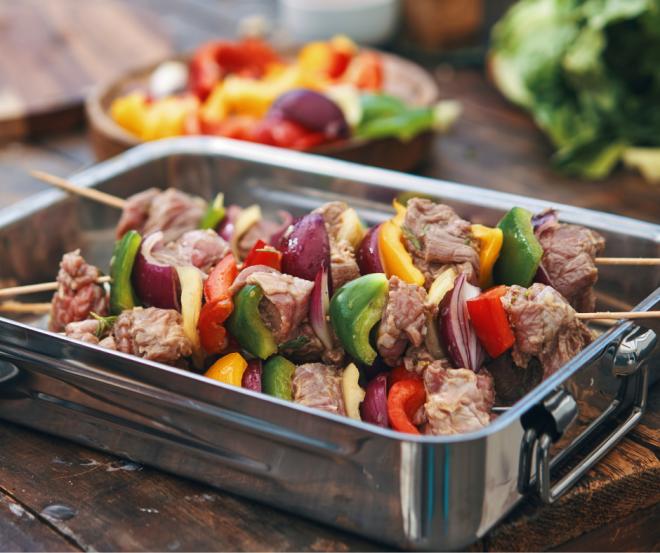 Lamb Kebabs Gourmet