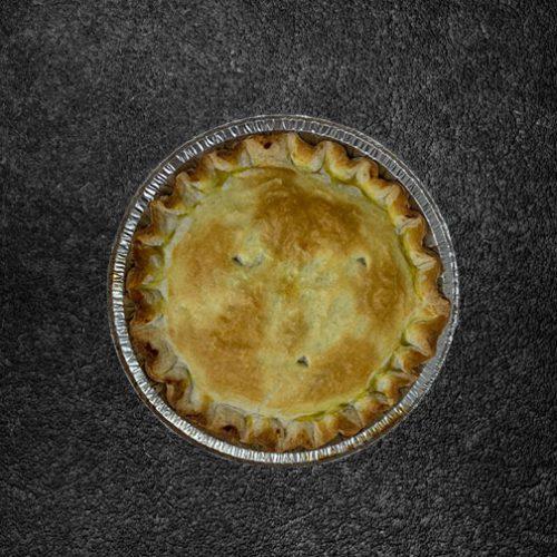 Family size plain meat pie ( Pre Frozen)