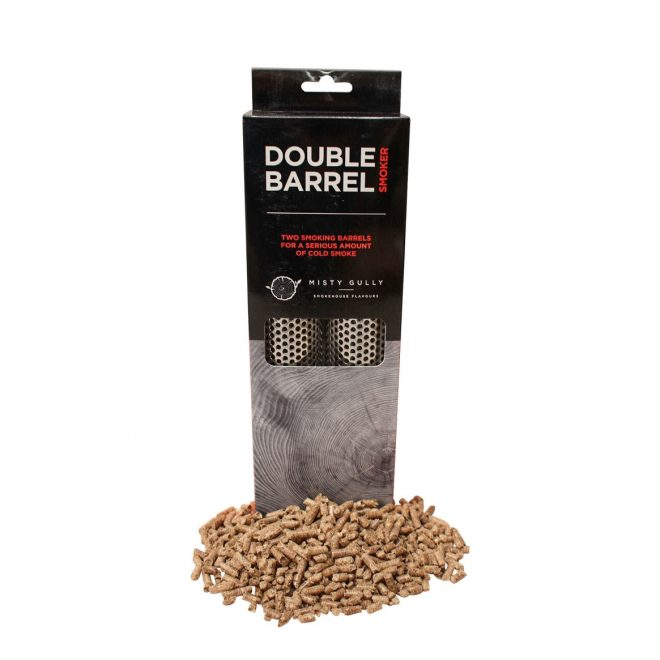 Double Barrel Cold Smoker