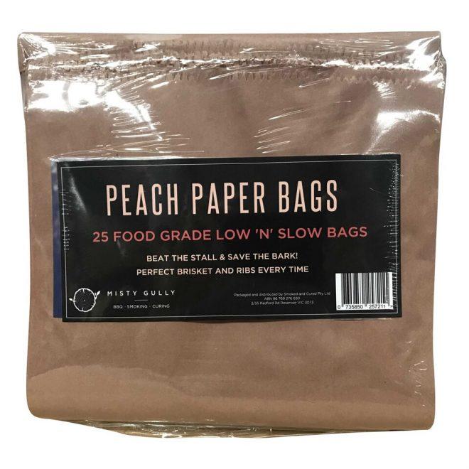 Peach Paper Bags