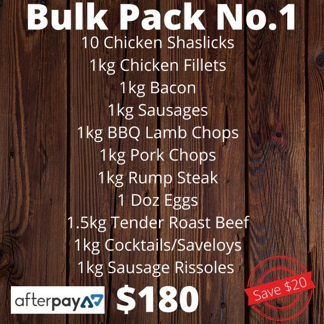 Pack – Bulk No.1