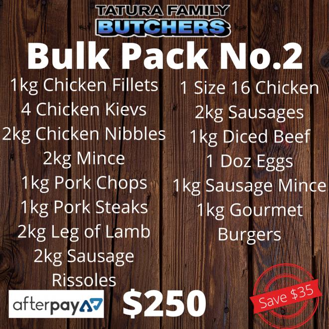 Pack – Bulk No.2
