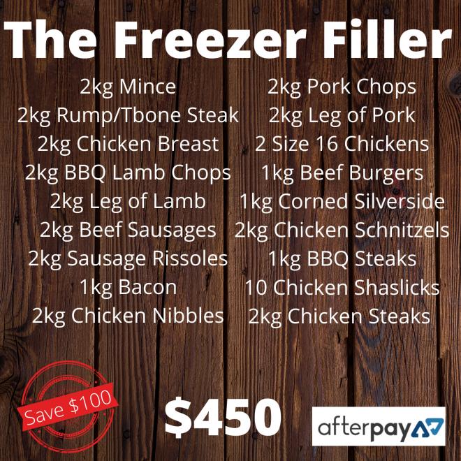 Pack – Freezer Filler