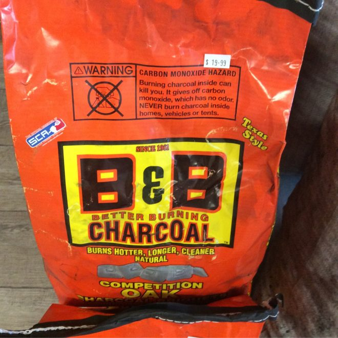 BB Charcoal Briquets 4kg