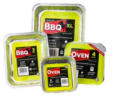 BBQ Trays Various Sizes