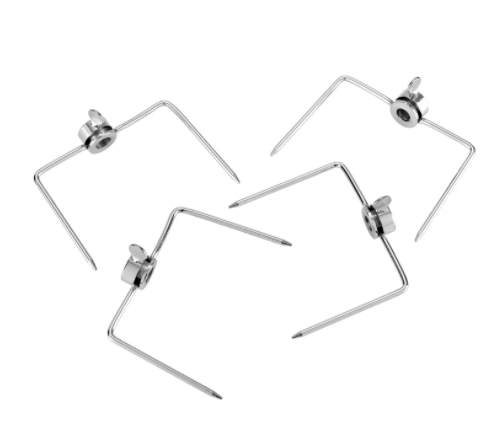 Gasmate Rotisserie Prongs (Suits upto 10mm rod) 4pc