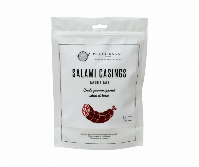 Misty Gully Banquet Bags Salami Casings