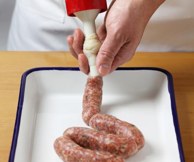 Collagen sausage skins/casings