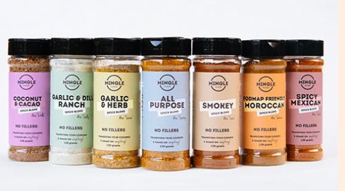 Mingle Seasoning Range – No added nastys