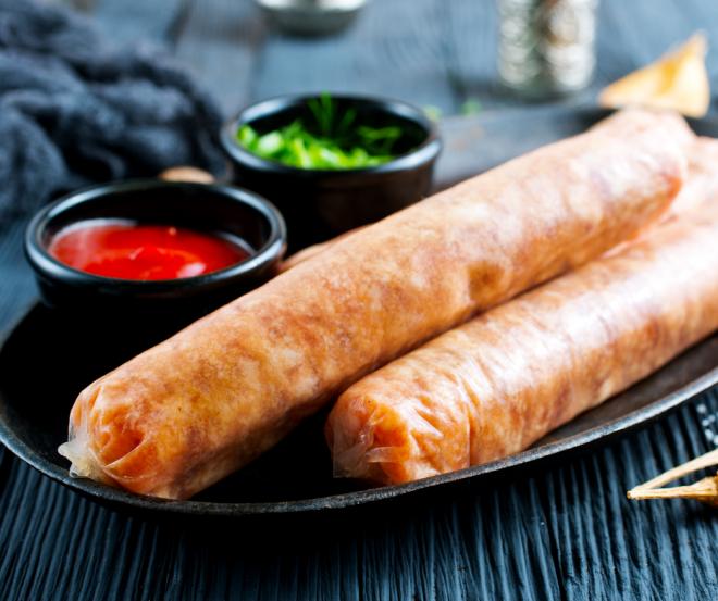 Sausage – Chicken Parmigiana Style