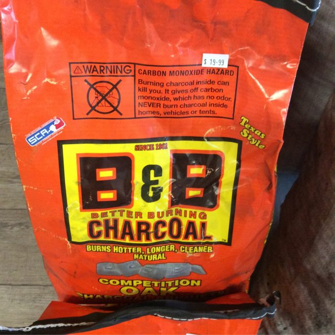 BB Charcoal Briquets